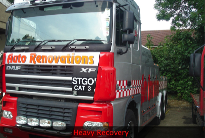 heavy recovery vehicles in maidstone kent